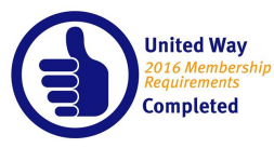 United Way Membership Requirements Met